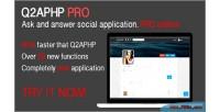 Pro q2aphp q network social a