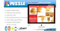 Puzzle facebook contest application