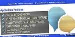 Questioner friends facebook application