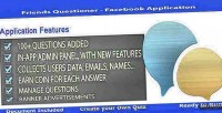 Questioner friends facebook application
