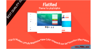 Red flat phpdolphin for theme