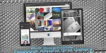 Responsive php facebook gallery grid albums