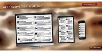 Rss responsive timeline