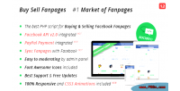 Sell buy market facebook fanpages
