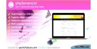 Servers premium list tracker