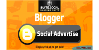 Sharer social advert social blogger