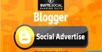 Sharer social advert social blogger