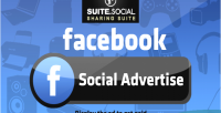 Sharer social advert social facebook