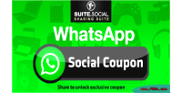 Sharer social coupon social whatsapp