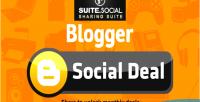 Sharer social deal social blogger