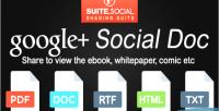 Sharer social doc social google