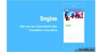 Sngine v2 the ultimate platform network social