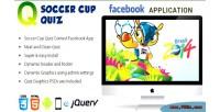 Soccer facebook cup application contest quiz