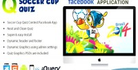Soccer facebook cup application contest quiz