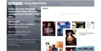 Social convoe news portal