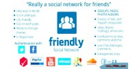 Social friendly network