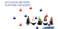 Social soci platform script network