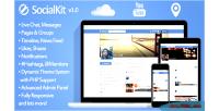Social socialkit networking platform