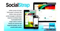 Social socialstrap networking platform