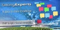 Social talkingexperts platform knowledge share to