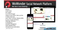 Social wowonder network platform