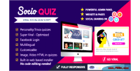 Socioquiz viral quiz website login facebook with