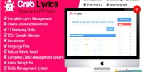 Songs crablyrics script php lyrics
