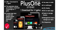 Store downloads 1 download gplus 1 for store