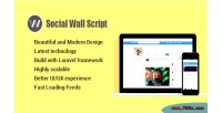 Style facebook script networking social