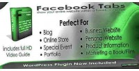 Facebook tabs php wordpress versions plugin
