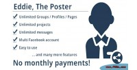 The poster facebook multi scheduler post account the