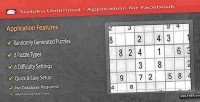 Unlimited sudoku facebook for application