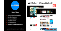 Video webtuber website