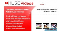 Videos hugevideos script php website