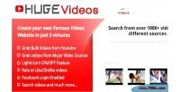 Videos hugevideos script php website