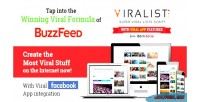 Viralist viral lists script app facebook with
