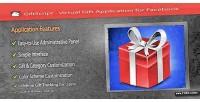 Virtual giftscript gift facebook for application