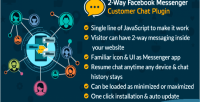 Way 2 facebook messenger customer chat plugin your for website a fb add inboxer