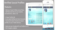Your social profiles at profilem place one