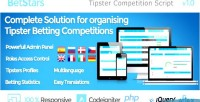 Stars bet script competition tipster