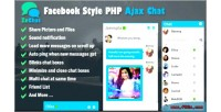 Style facebook php zechat chat ajax