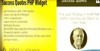 Success quotes php widget quotes random 1000
