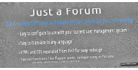 A just forum