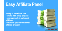 Affiliate easy panel