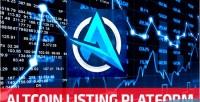 Altcoin altmonitor listing platform