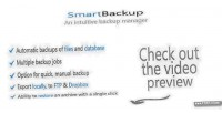 An smartbackup manager backup intuitive