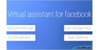 Assistant virtual for facebook