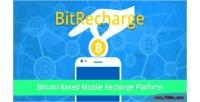 Bitcoin bitrecharge based platform recharge mobile