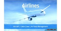 Cabin airlines crew system air management parts