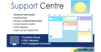 Centre support system ticket php